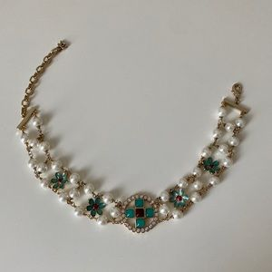 Chanel Pearl & Turquoise Choker